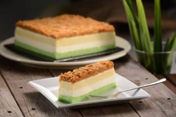 Pandan Gula Melaka Cheese Cake