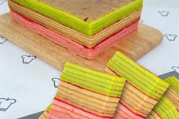 3-Flavour Layer Cake