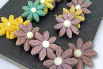 Floral Biscuits